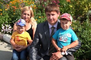 Семья О.С. Садкова